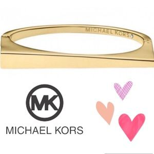Michael KORS Bracelet Gold tone Asymmetrical